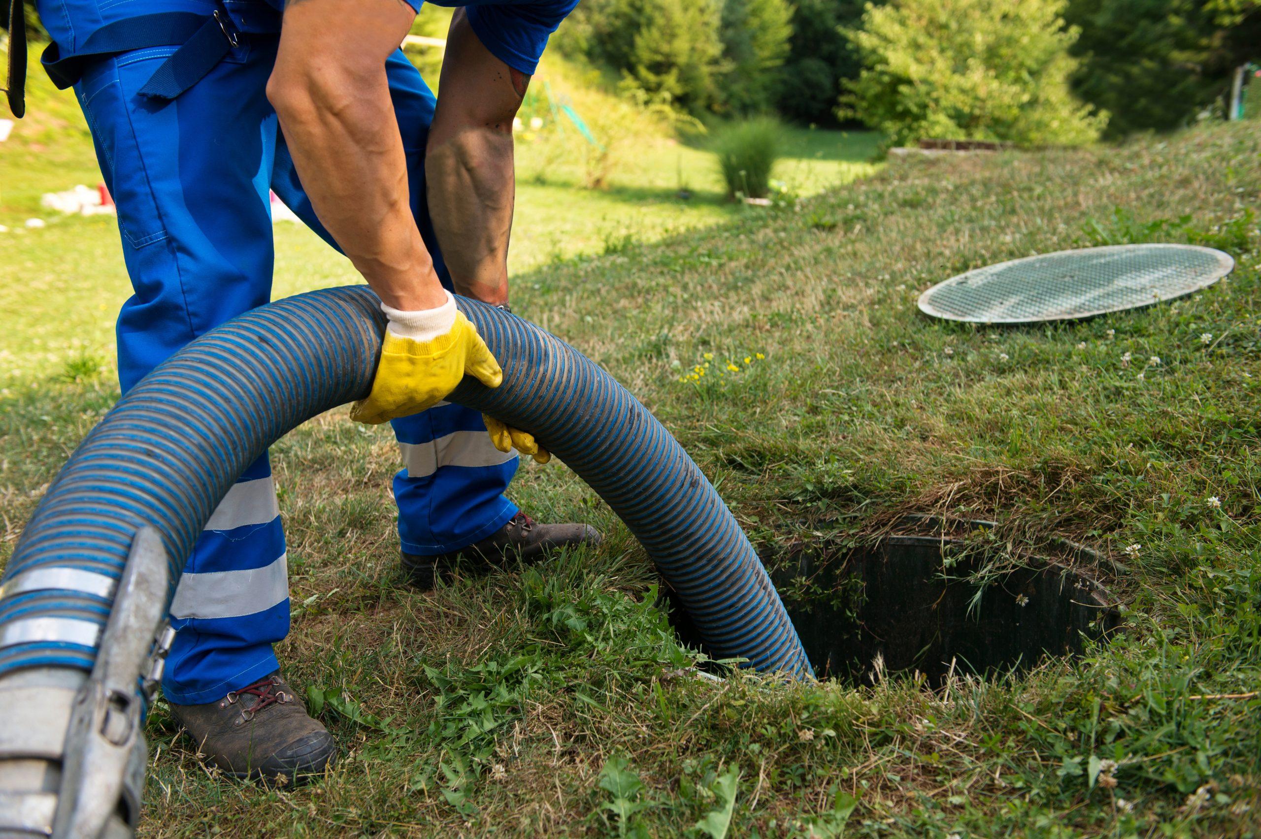 septic tank pumping alternative
