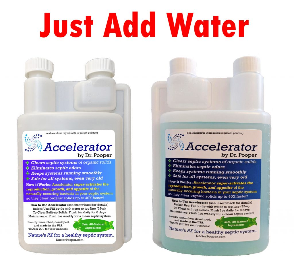 Accelerator Septic System Treatment Additive -- Add Water