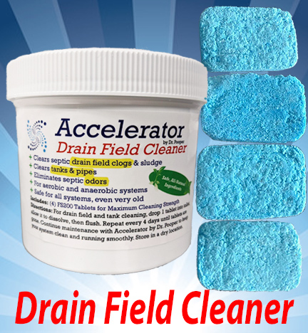 Septic Drain Field Cleaner System